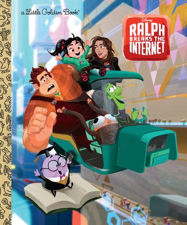 Wreck-It Ralph 2 Little Golden Book (Disney Wreck-It Ralph 2) by Nancy Parent