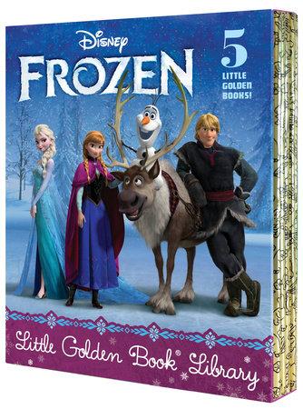 Frozen Little Golden Book Library (Disney Frozen) by Various