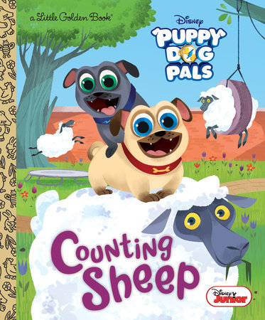 Counting Sheep (Disney Junior Puppy Dog Pals) by Judy Katschke