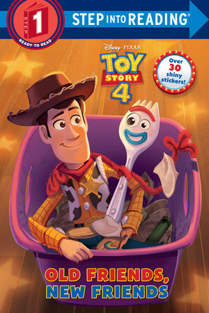 Old Friends, New Friends (Disney/Pixar Toy Story 4) by