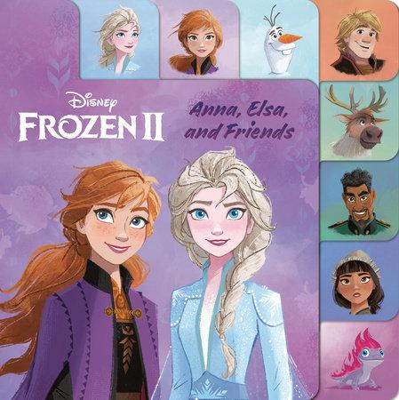 Frozen 2 Tabbed Board Book (Disney Frozen 2)