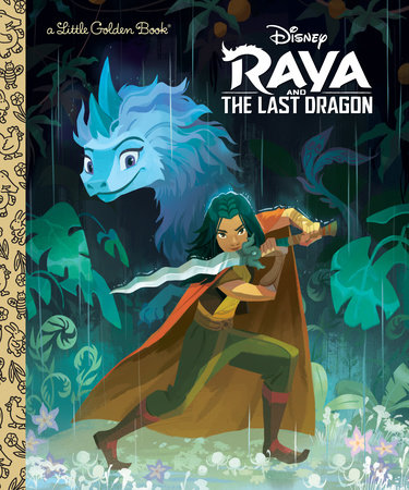 Raya and the Last Dragon Little Golden Book (Disney Raya and the Last Dragon) by Golden Books