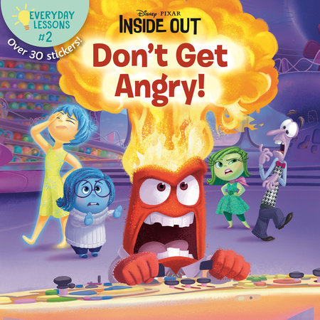 Everyday Lessons #2: Don't Get Angry! (Disney/Pixar Inside Out)