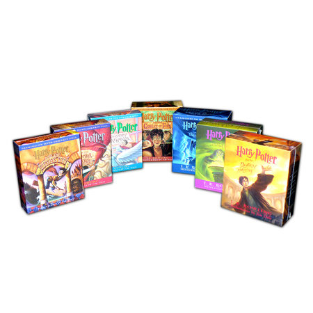 Harry Potter 1-7 Audio Collection by J.K. Rowling