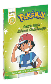 Prima Games Reader Level 3 Pokemon: Ash's Epic Island Challenge