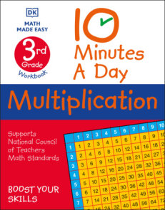 10 Minutes A Day Multiplication, 3rd Grade