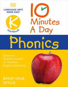 10 Minutes A Day Phonics Kindergarten