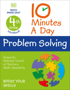 10 Minutes a Day Problem Solving, 4th Grade