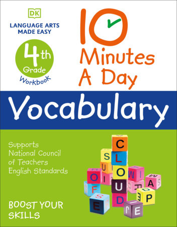 10 Minutes a Day Vocabulary, 4th Grade by DK
