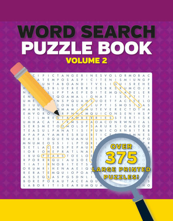 Word Search Puzzles Large Print Volume 2 2nd Edition by DK