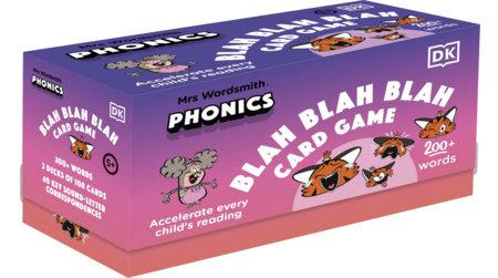 Mrs Wordsmith Phonics Blah Blah Blah Card Game, Kindergarten & Grades 1-2