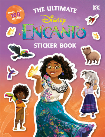 Disney Encanto The Ultimate Sticker Book by DK