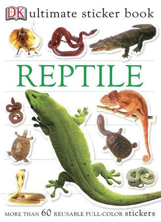 Ultimate Sticker Book: Reptile by DK