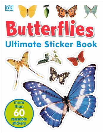 Ultimate Sticker Book: Butterflies by DK