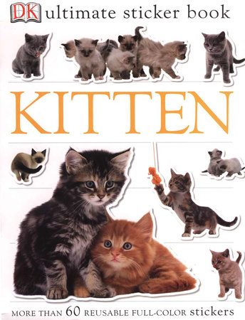 Ultimate Sticker Book: Kitten by DK
