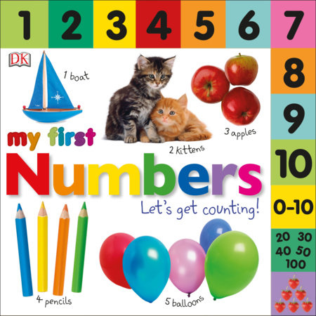 Tabbed Board Books: My First Numbers by DK