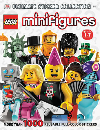 Ultimate Sticker Collection: LEGO® Minifigures (Series 1-7) by Shari Last