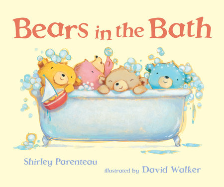 Bears in the Bath by Shirley Parenteau