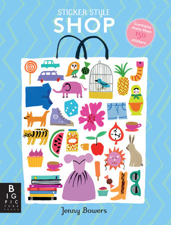 Sticker Style: Shop by Big Picture Press
