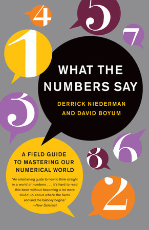 What the Numbers Say by Derrick Niederman and David Boyum