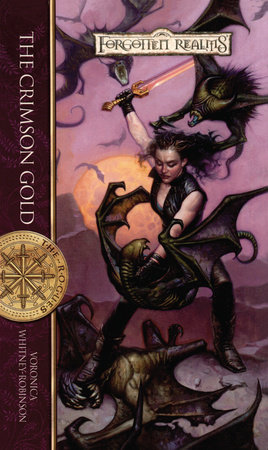 The Crimson Gold by Voronica Whitney-Robinson