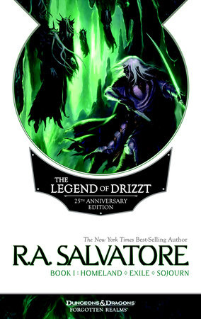 The Legend of Drizzt 25th Anniversary Edition, Book I by R. A. Salvatore