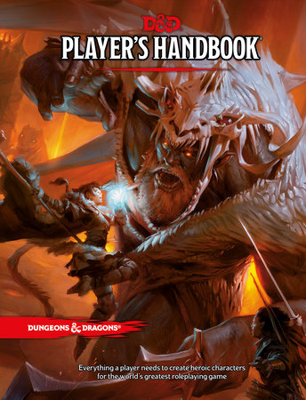Dungeons & Dragons Player's Handbook (Core Rulebook, D&D Roleplaying Game) by Wizards RPG Team