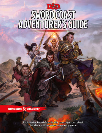Sword Coast Adventurer's Guide by Wizards RPG Team
