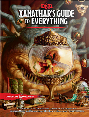 Xanathar's Guide to Everything by Wizards RPG Team