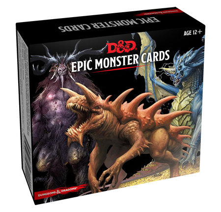 Dungeons & Dragons Spellbook Cards: Epic Monsters (D&D Accessory) by