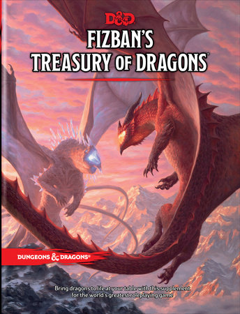 Fizban's Treasury of Dragons (Dungeon & Dragons Book) by Wizards RPG Team