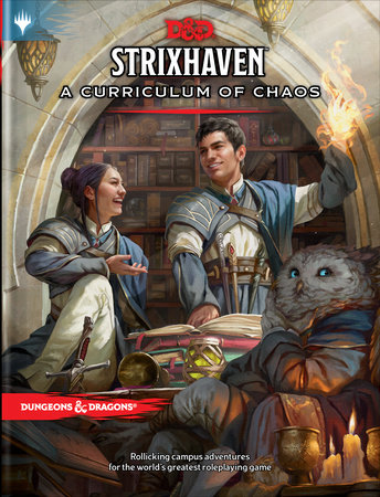 Strixhaven: Curriculum of Chaos (D&D/MTG Adventure Book) by Wizards RPG Team