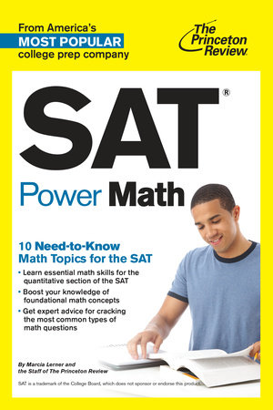 SAT Power Math by The Princeton Review