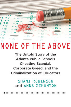 None of the Above by Shani Robinson and Anna Simonton
