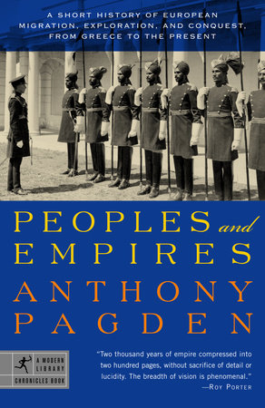Peoples and Empires by Anthony Pagden