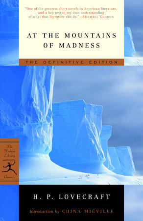 At the Mountains of Madness Book Cover Picture