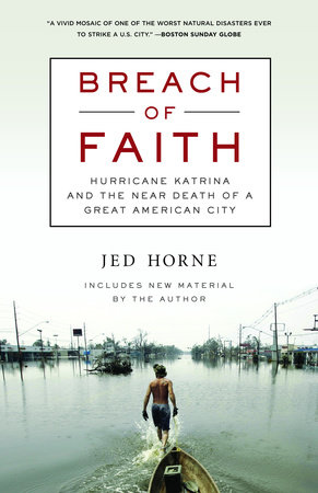 Breach of Faith by Jed Horne