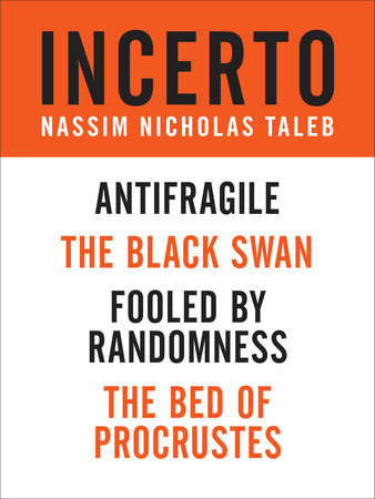 Incerto 4-Book Bundle by Nassim Nicholas Taleb