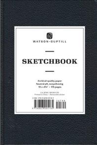Medium Sketchbook (Kivar, Black)