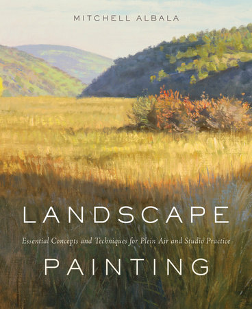 Landscape Painting by Mitchell Albala