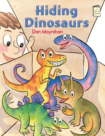 Hiding Dinosaurs by Dan Moynihan