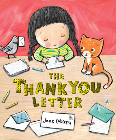 The Thank You Letter by Jane Cabrera