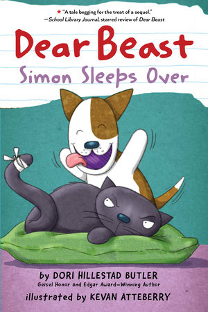 Dear Beast: Simon Sleeps Over by Dori Hillestad Butler