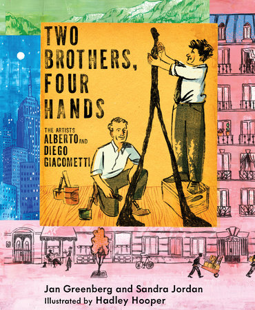 Two Brothers, Four Hands by Jan Greenberg and Sandra Jordan