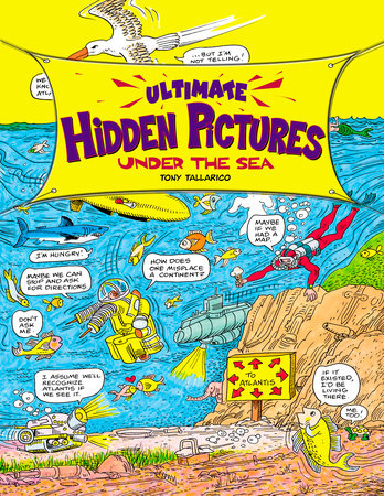 Ultimate Hidden Pictures by Tony Tallarico