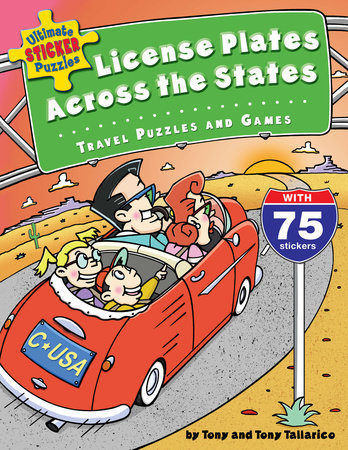 Ultimate Sticker Puzzles: License Plates Across the States by Tony Tallarico