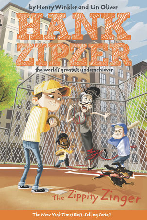 The Zippity Zinger #4 by Henry Winkler and Lin Oliver