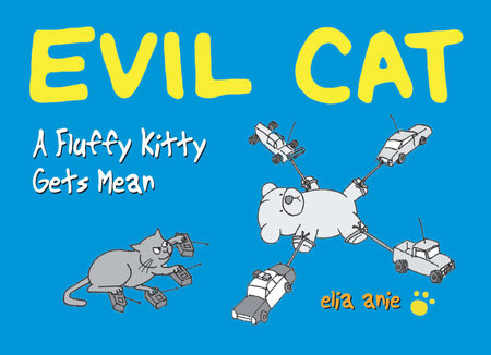 Evil Cat by Elia Anie