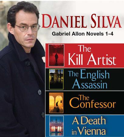 Daniel Silva GABRIEL ALLON Novels 1-4 by Daniel Silva