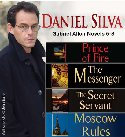 Daniel Silva Gabriel Allon Novels 5-8 by Daniel Silva